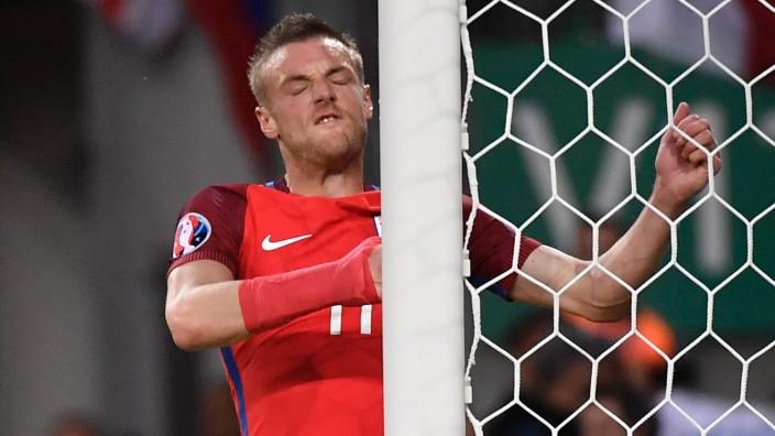 England bei der Fußball-EM: Wütend und enttäuscht: Jamie Vardy.