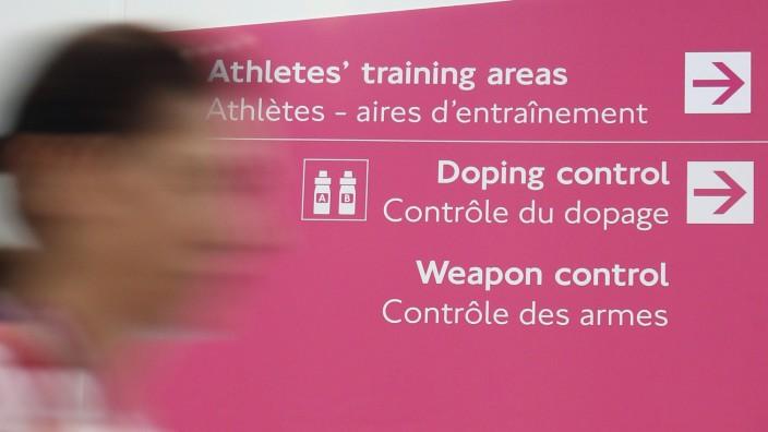 London 2012 - Doping-Kontrolle