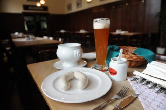 München: Weißwurst-Frühstück in der Gaststätte Großmarkthalle