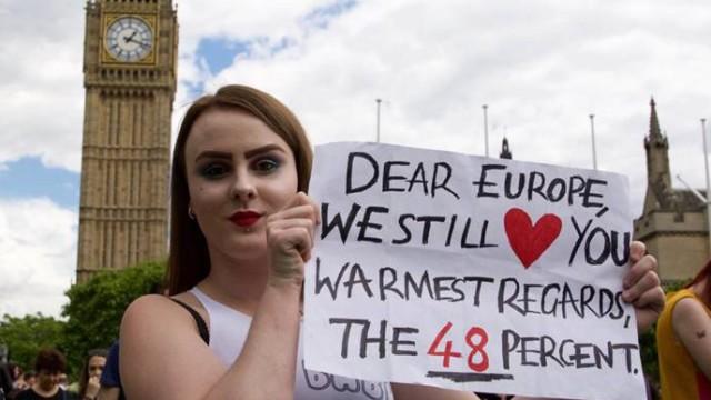 Brexit-Demo in London