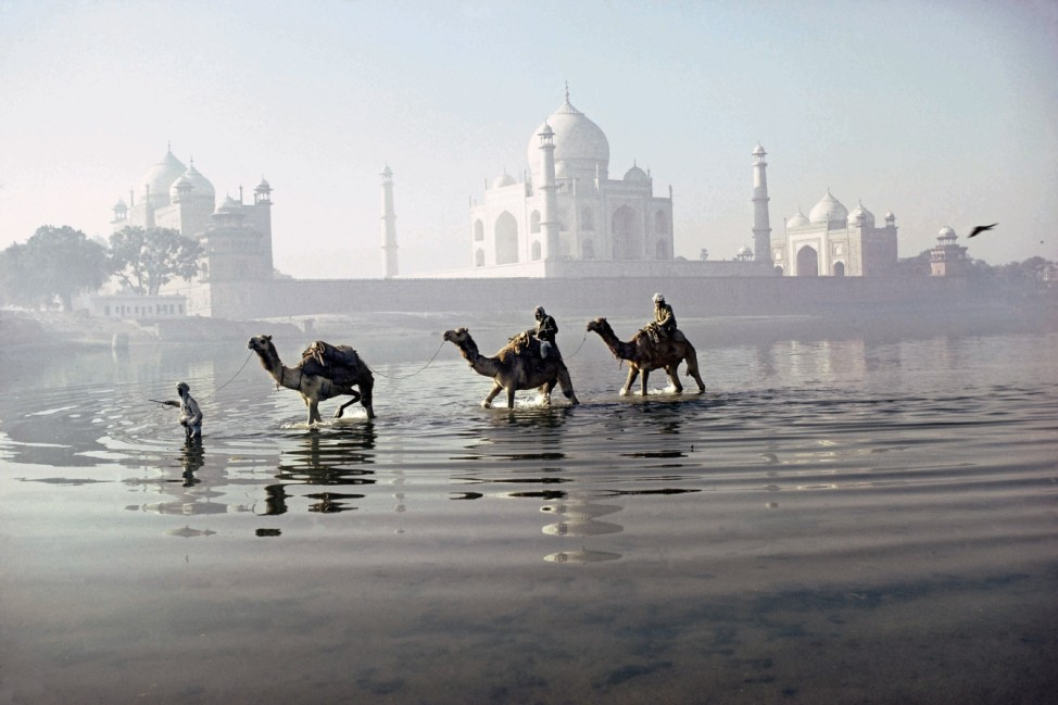 Agra (Uttar Pradesh, Inde), Taj Mahal.; 05_Michaud_S.178-79_Indien