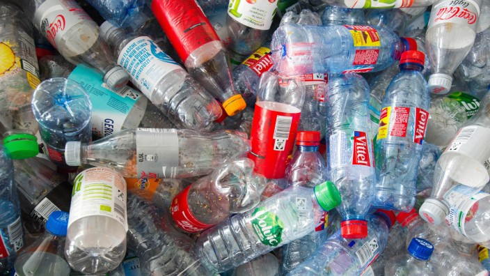 Einweg-Pfandflaschen