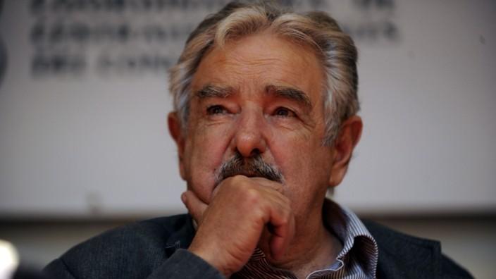 Lateinamerika: Uruguays Ex-Präsident José Mujica. Auf Einladung der Friedrich-Ebert-Stiftung war er zuletzt in Deutschland.