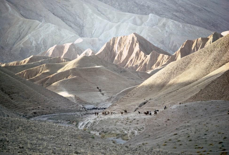 Hindou Kouch, paysage du Badakhchan; 02_Michaud_S.94-95_Afghanistan