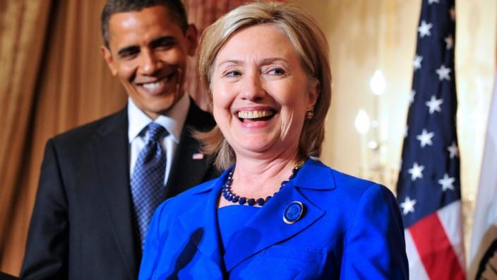 Obama macht Wahlkampf mit Clinton