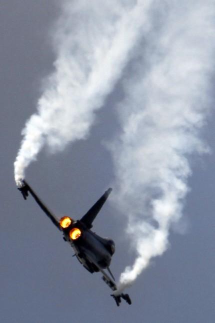 Airbus: Der Eurofighter bei einer Flugschau in Paris.