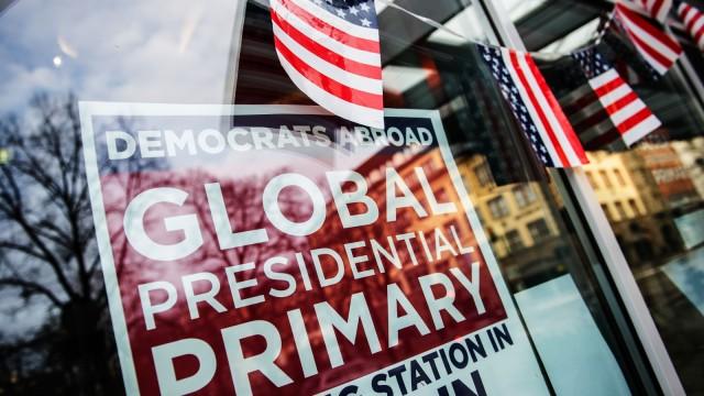 Vorwahlen für US-Präsidentschaftskandidatur in Berlin