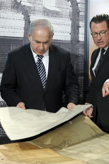 Netanjahu erhält Baupläne des KZ Auschwitz