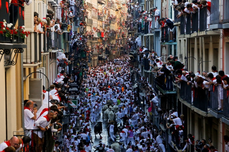 San Fermin Running of the Bulls - Day 2