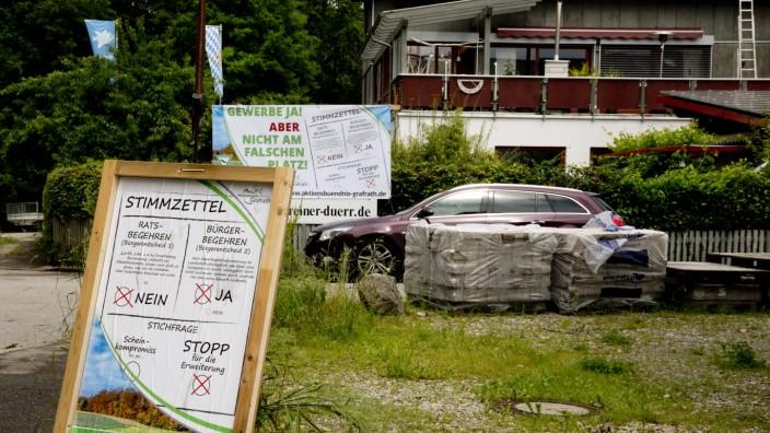 Grafrath: Streit um Gewerbegebiet Jesenwanger Strasse / Firma CABERO