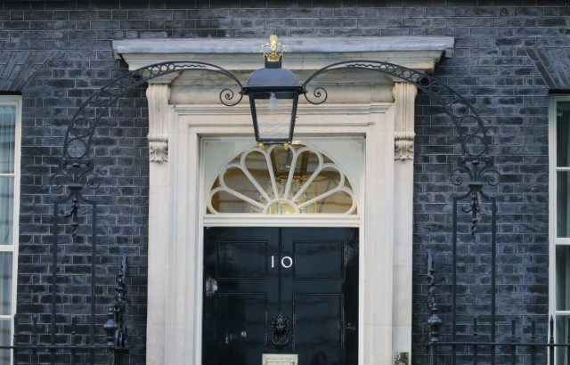 Brexit Entscheidung - Number 10 Downing Street