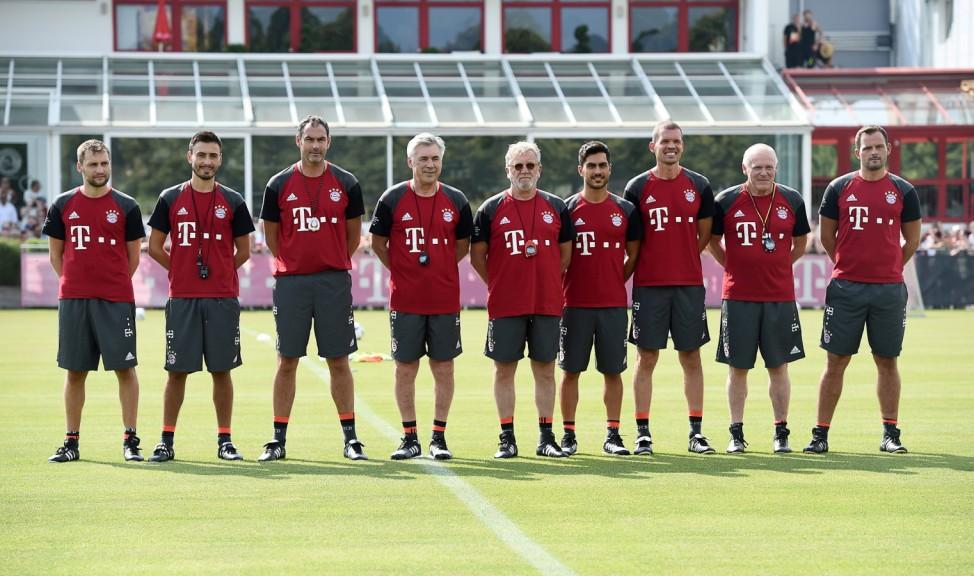 FC Bayern München - Trainingsauftakt