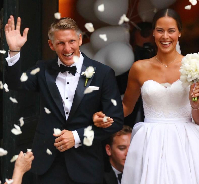 Schweinsteiger Invanovic Hochzeit Venedig Traaung Kirche