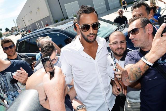 New Juventus player Mehdi Benatia