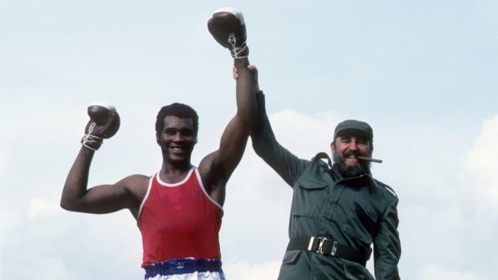 Fidel Castro and Cuba Teofilo Stevenson, 1984 Los Angeles Olympic Games Preview