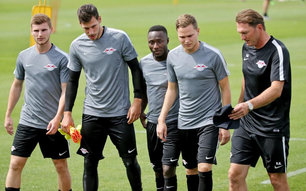 RB Leipzig - Trainingsauftakt