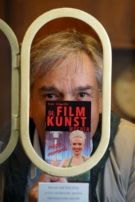 Kino-Serie I: Ob Hochformat oder Breitwand, Thomas Kuchenreuther ist ein Mann der Bilder. Er betreibt seine Kinos mit wahrer Leidenschaft für die Filmkunst.