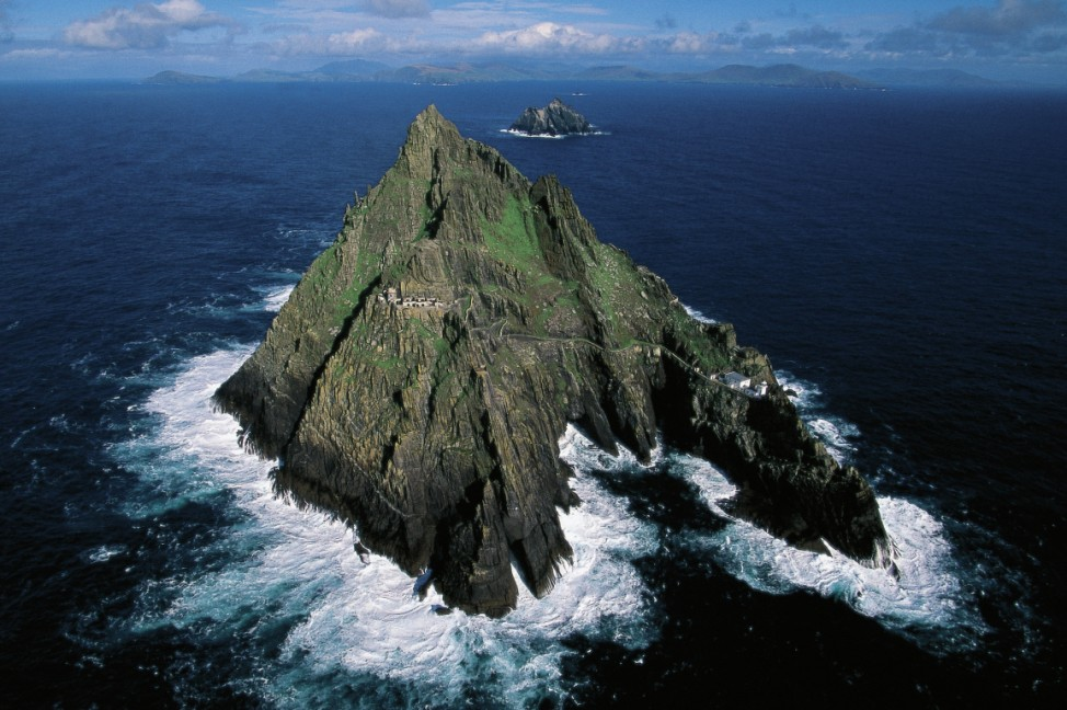 Small island of Skellig Michael