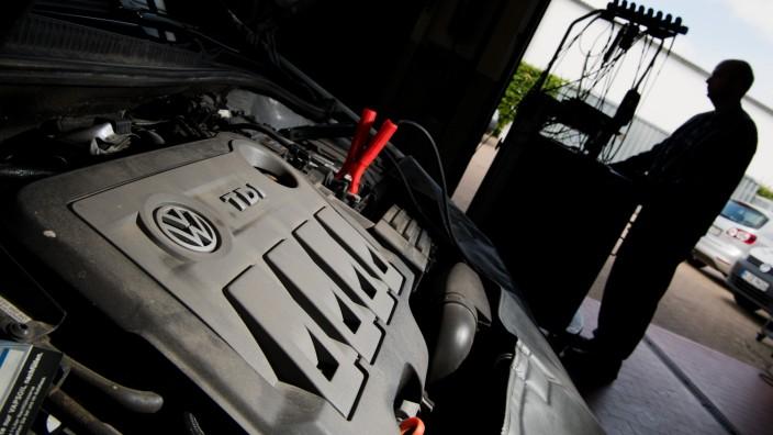 Rückrufaktion Volkswagen Abgasskandal