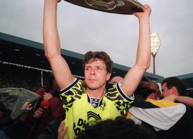 FUSSBALL: 1. BUNDESLIGA 86/87 BORUSSIA DORTMUND; Andreas Möller