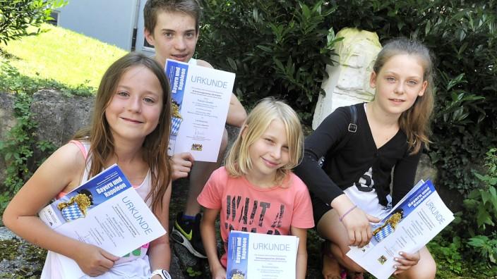 Gilching Mittelschule Preisträger