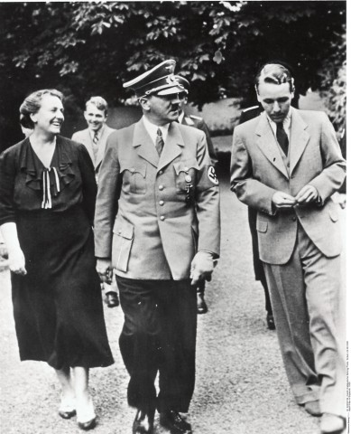 Adolf Hitler in Bayreuth, 1938