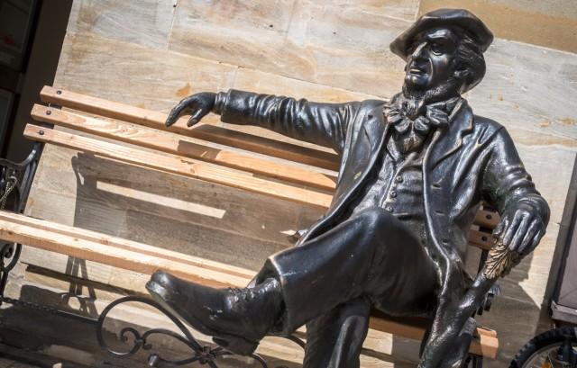 Bayreuther Festspiele 2015 - Richard-Wagner-Skulptur