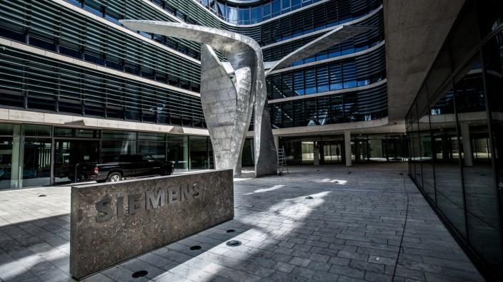 Neue Siemens-Zentrale in München, 2016
