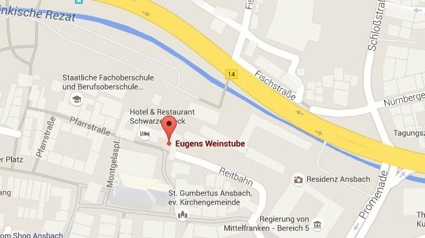 Ansbach Karte Innenstadt Explosion