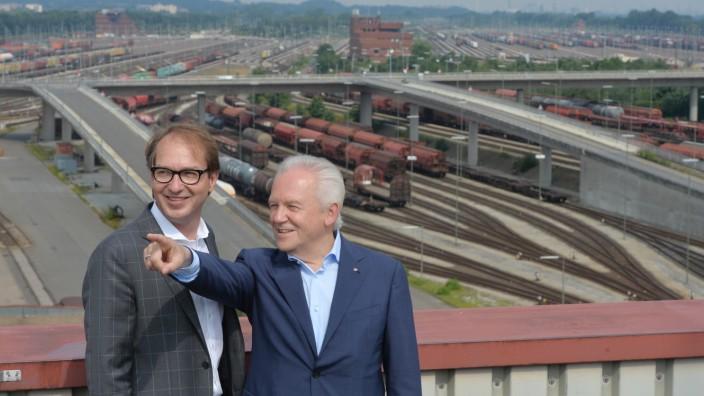 Sommer-Pressereise mit Bundesminister Dobrindt und DB-Vorstandsvorsitzenden Dr. Grube