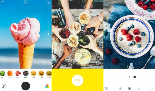 Die Foto-App Foodie