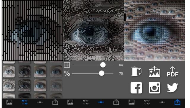 Die Foto-App Pixelwakker