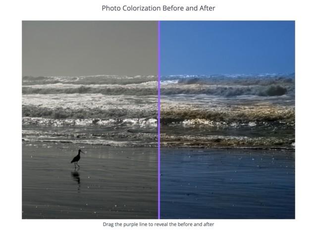 Die Foto-App Colorize Photos