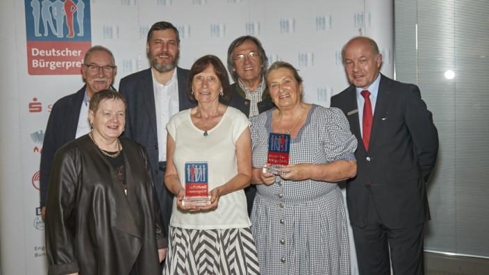 Preisverleihung Deutscher Bürgerpreis 2016 Sparkasse