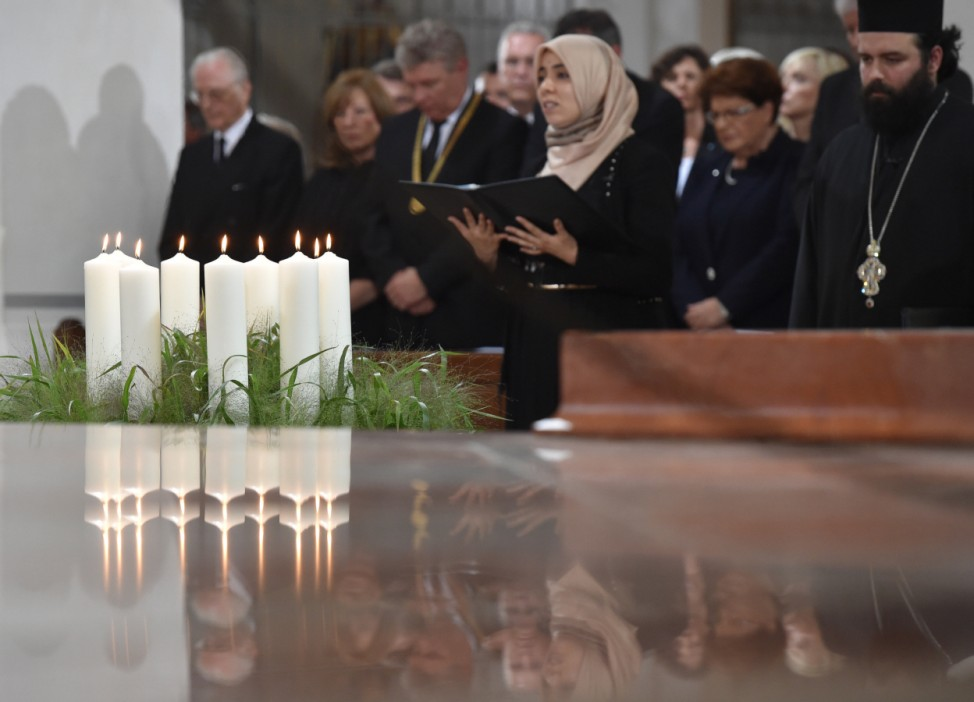 Gedenken an die Opfer des Amoklaufs von München