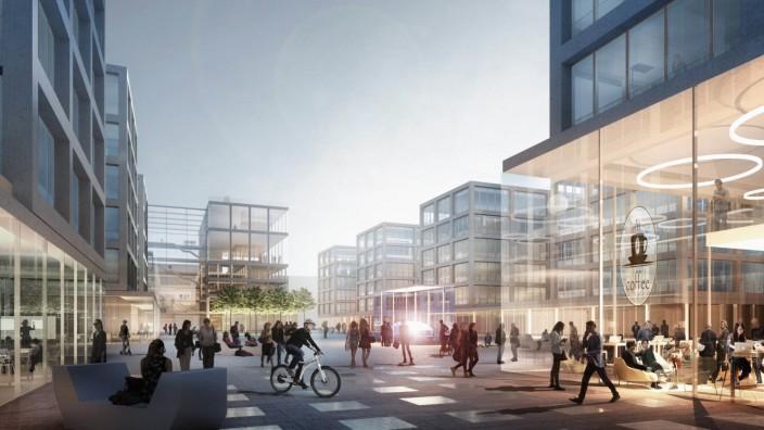 Daimler baut neues Büroareal in Stuttgart-Vaihingen