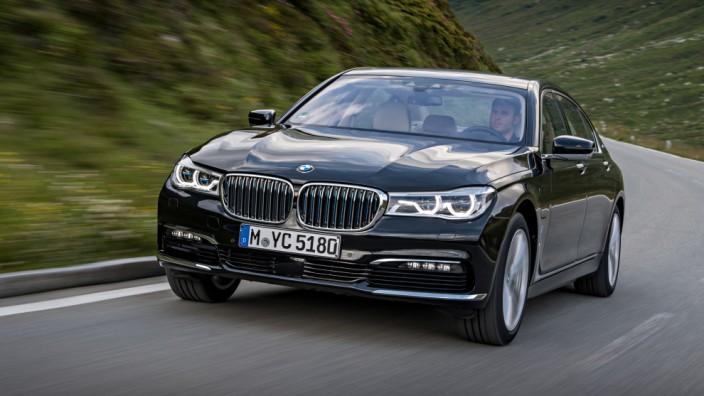 Der neue BMW 740Le iPerformance.