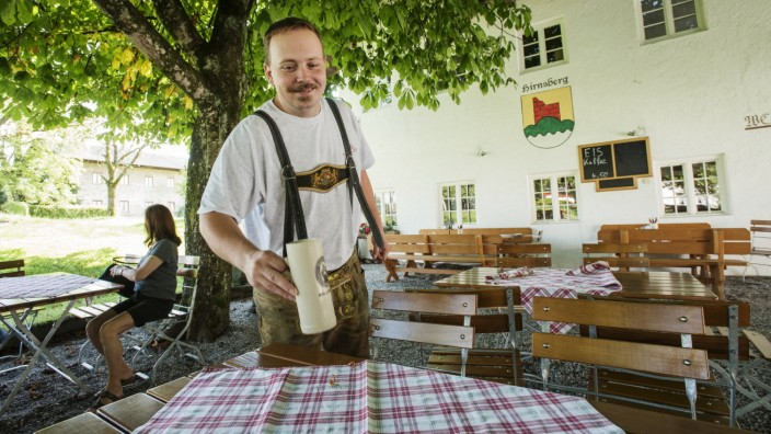 Bad Endorf, Hirnsberg, schönstes Dorf Bayerns,