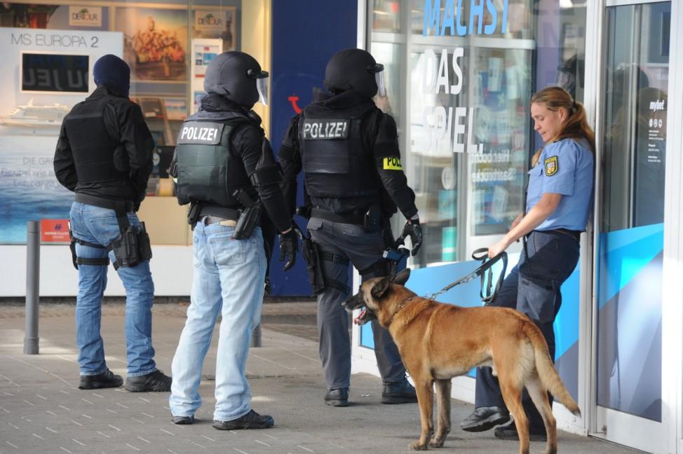 SEK Einsatz Saarbrücken