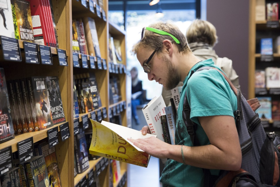 Amazon opens first brick-and-mortar bookstore