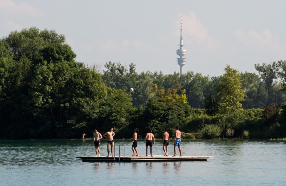 Regattaparksee in München ist auch als Regattasee bekannt.