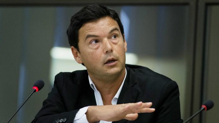 Thomas Piketty visit at the Dutch Senate