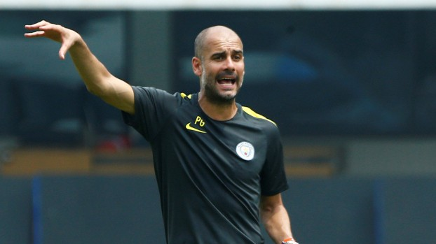 Football Soccer - Manchester City training - International Champions Cup China