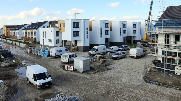 Wohnen: Neubauten im Münchner Speckgürtel