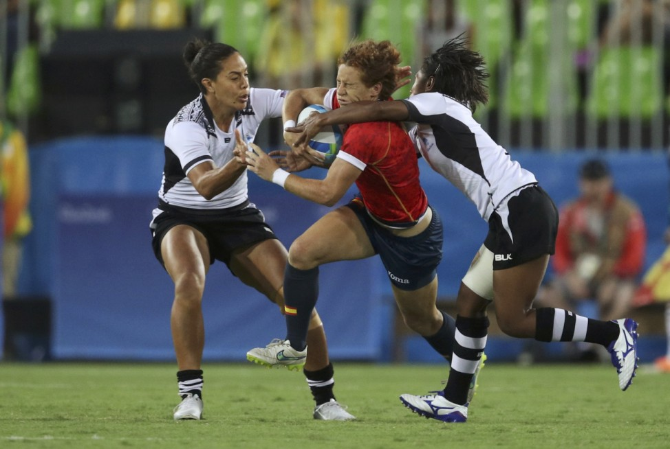 Rugby - Women's Placing 7-8 Spain v Fiji