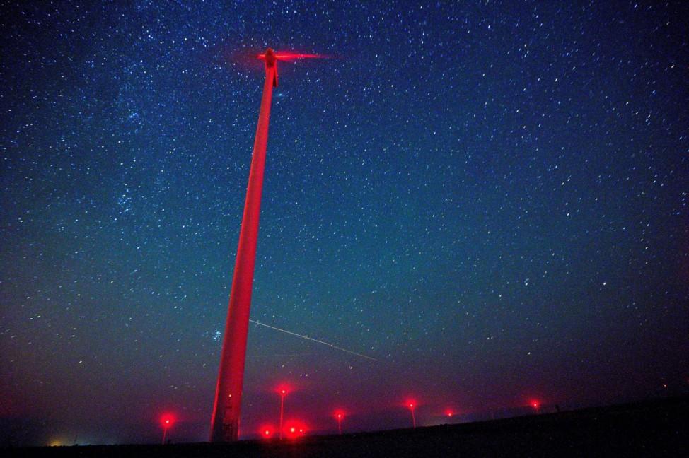 Perseid meteor shower seen near Kavarna, Bulgaria