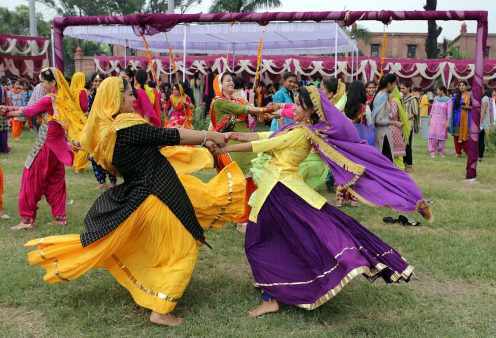 Teej festival celebration in Amritsar, India