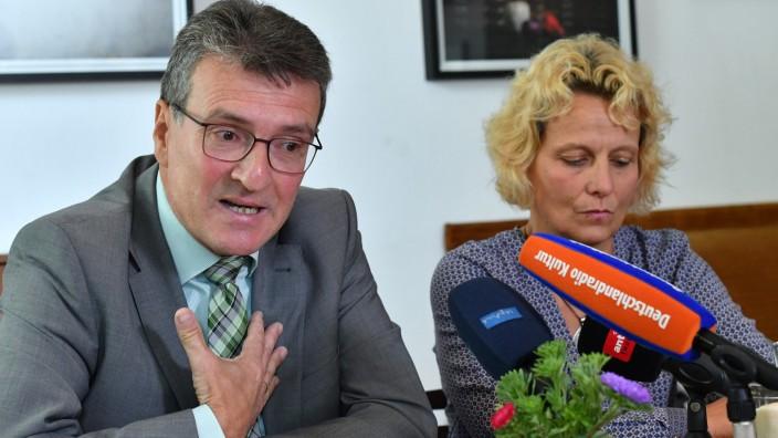 Thüringens Justizminister Dieter Lauinger