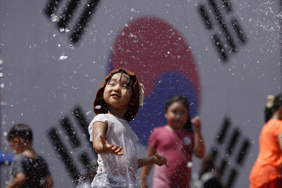 South Korea Marks The 71th Independence Day