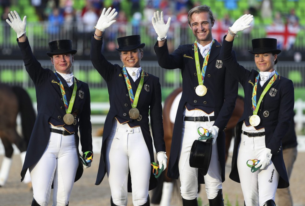 Rio 2016 - Pferdesport Dressur